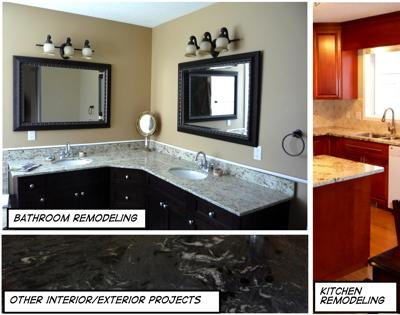 Granite Kitchen Countertops And Quartz